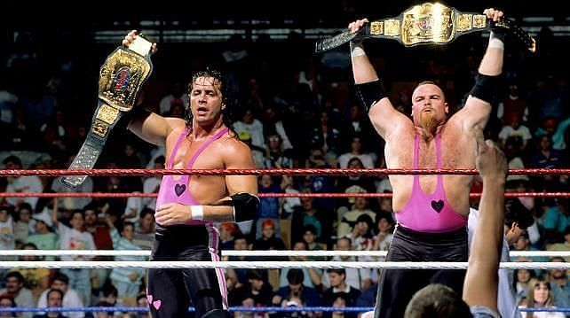 The Hart Foundation was an iconic unit in WWE
