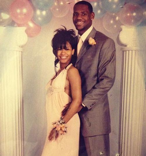 LeBron and Savannah's wedding