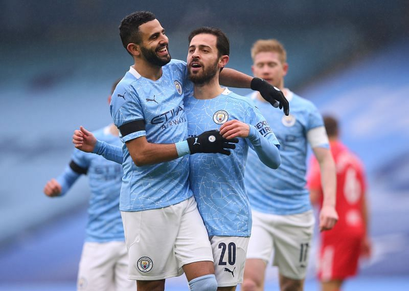 Manchester City are in Premier League action this week