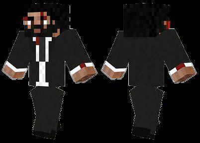 John Wick Minecraft Custom Skin