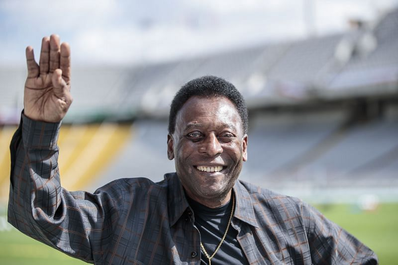 Pele rubbished suggestions that his Instagram bio was changed after Cristiano Ronaldo went past his goal tally.
