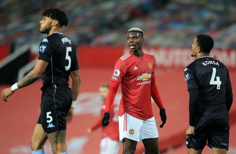 Paul Pogba ran the show against Aston Villa.