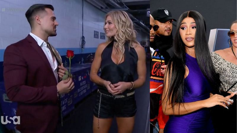 Torrie Wilson promised Angel Garza that Cardi B was in the building