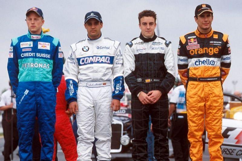 Kimi Raikkonen impressed on his Formula 1 debut.