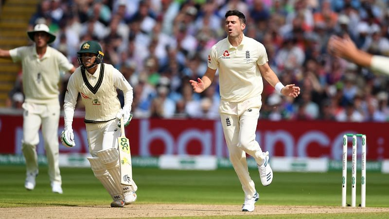 James Anderson is England