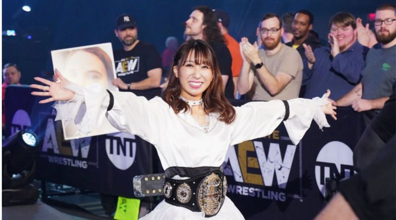 Riho is the first-ever AEW Women