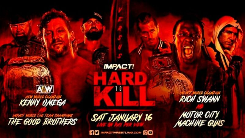 AEW World Heavyweight Champion Kenny Omega will team with his former Bullet Club brethren when he appears at Impact Wrestling