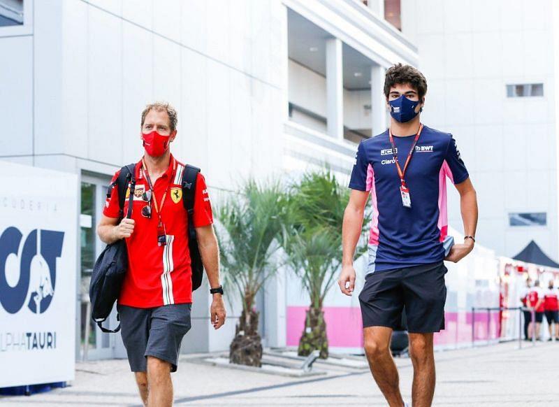 Sebastian Vettel (left) and Lance Stroll (right) will be driving for Aston Martin in 2021.
