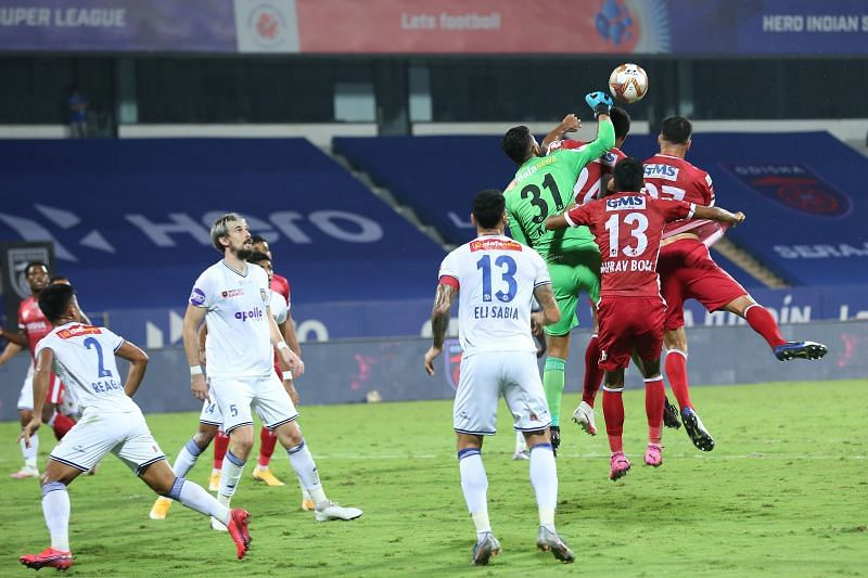 Odisha FC remain at the bottom of the points table after a loss to Chennaiyin FC (Image Courtesy: ISL Media)