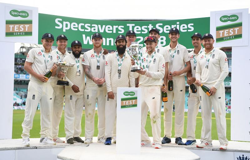 England won the previous Test series against India