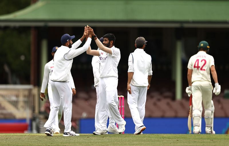 Jasprit Bumrah scalped two wickets in Australia