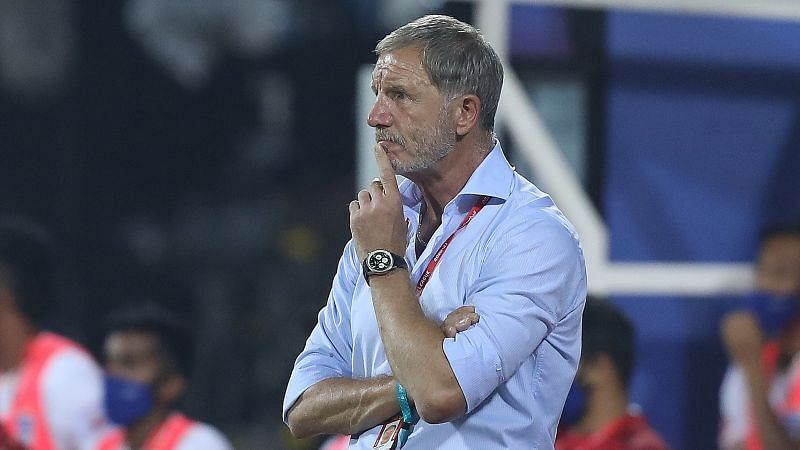 Odisha FC coach Stuart Baxter was pleased with his side