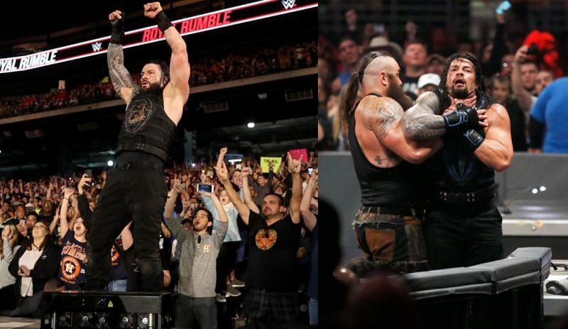 रोमन रेंस का प्रदर्शन WWE Royal Rumble में कुछ खास नहीं रहा है