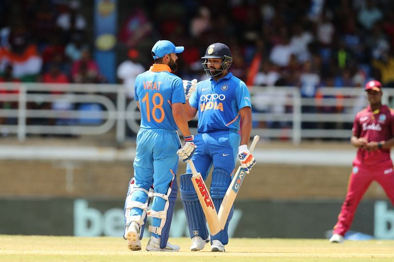 Virat Kohli and Rohit Sharma continue to rule the ICC ODI Rankings