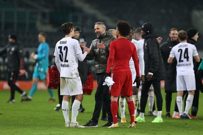 Borussia Monchengladbach defeated Bayern Munich in the Bundesliga