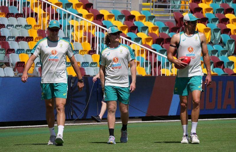 Australia returned to training on Wednesday