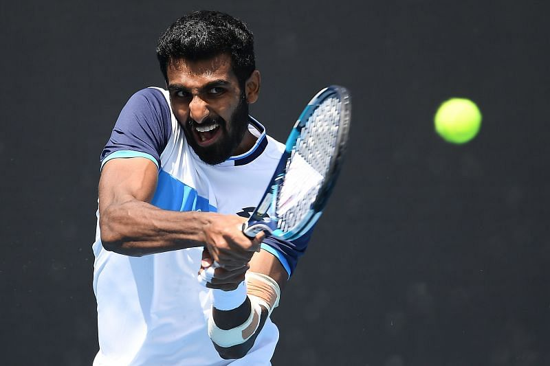 Prajnesh Gunneswaran will need to work on his consistency if he wishes to advance further in the qualifiers
