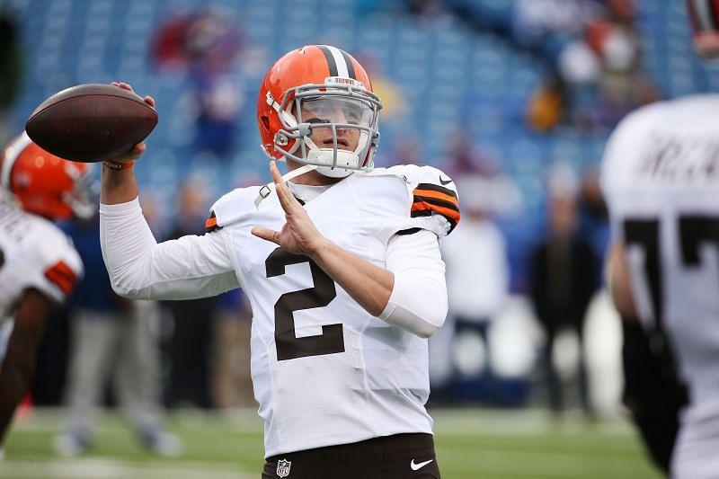 Former Cleveland Browns quarterback Johnny Manziel