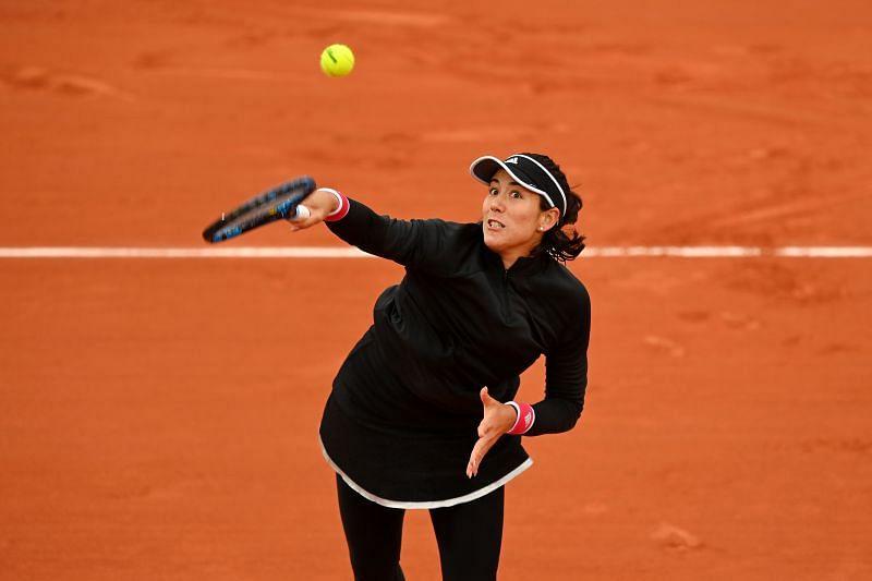 Garbine Muguruza at the 2020 French Open