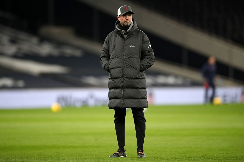 Jurgen Klopp will hope that the victory at Tottenham has turned around his side