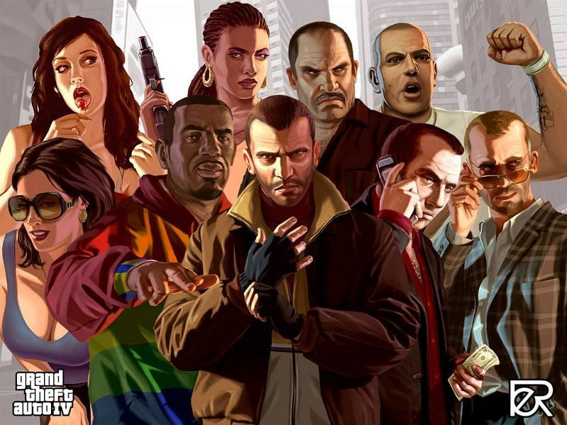 Liberty City has more dynamics if it has to be adapted to a new game (Image via LeipeArt (DeviantArt))