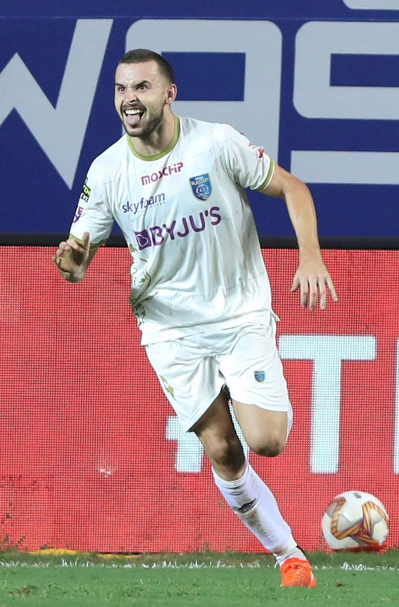 Jordan Murray is in a hot goalscoring form (Image Courtesy: ISL Media)