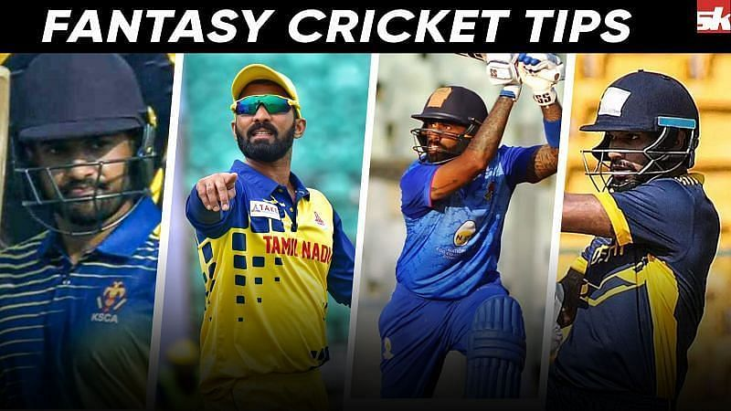 Dream11 Fantasy Suggestions for the TN vs BRD game in the Syed Mushtaq Ali Trophy 2021