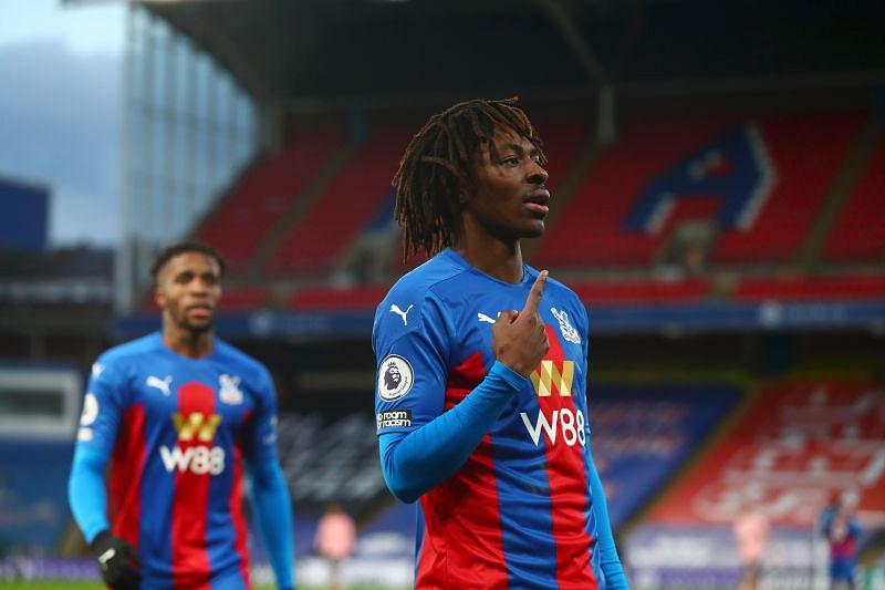 Eberechi Eze has caught the eye with his performances for Crystal Palace