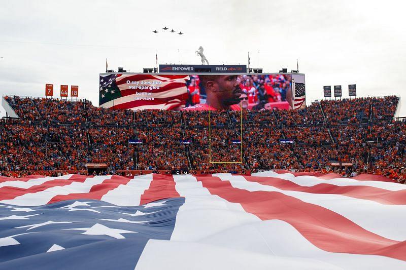 NFL Pre-game National Anthem
