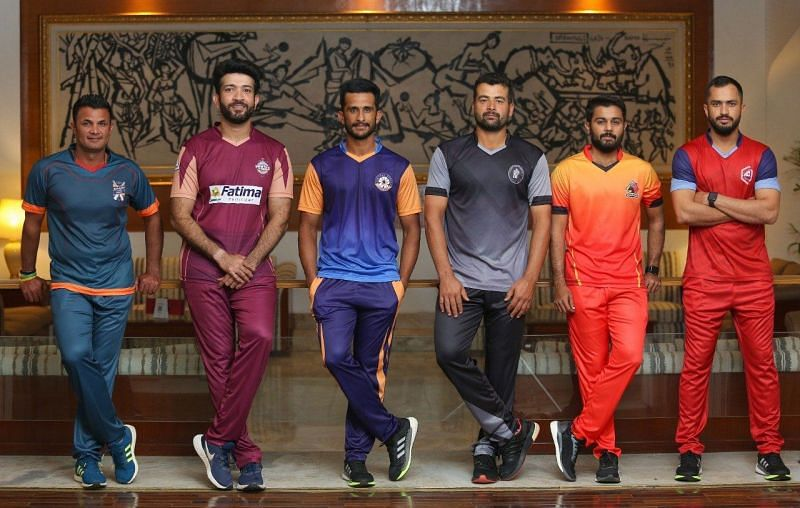 The six captains of the teams competing in Pakistan One Day Cup 2021 (Image Courtesy: PCB Media)