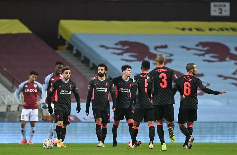 Liverpool defeated Aston Villa