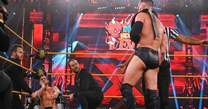 Finn Balor and Kyle O'Reilly hospitalized after NXT New Year's Evil main event