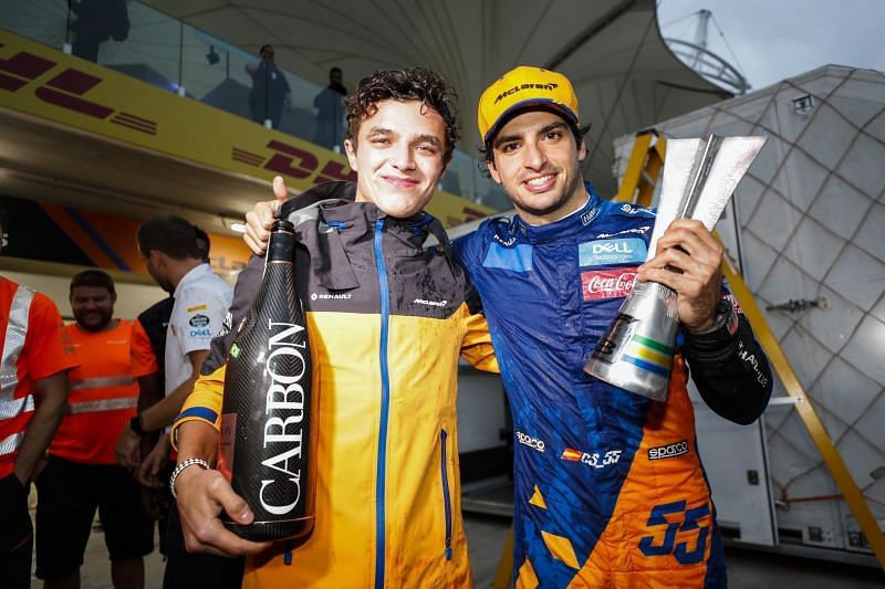 Sainz and Norris were a competitive driver line-up for McLaren