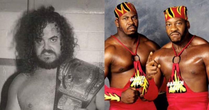 Black Bart and Harlem Heat.