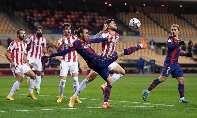 Barcelona struggled against Athletic Bilbao