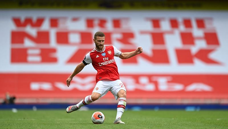 Mustafi has barely played for Arsenal this season.