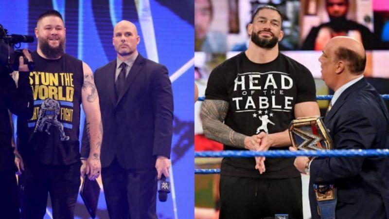 केविन ओवेंस इस हफ्ते SmackDown में धोखे से रोमन रेंस के अगले प्रतिदंद्वी बने