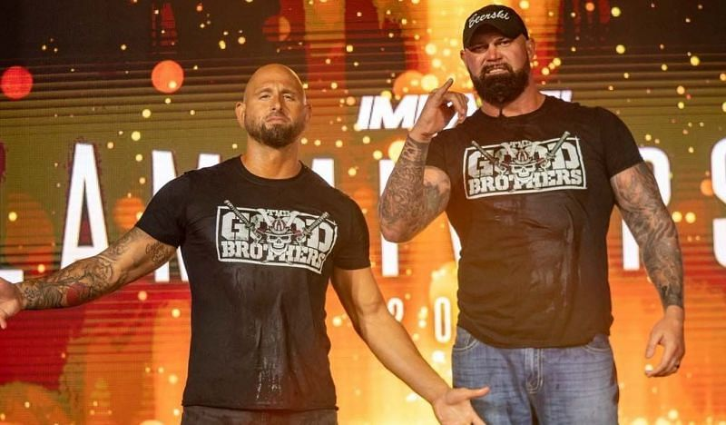 The Good Brothers in IMPACT Wrestling