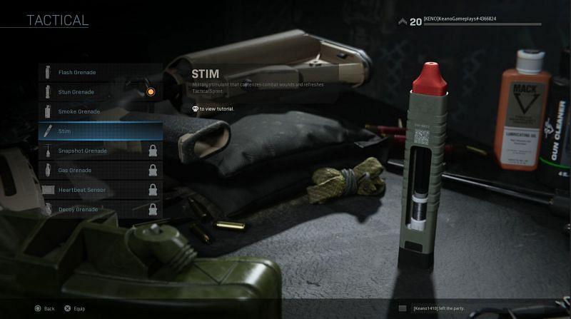 The Stim (Image via u/EmergeGames on Reddit)