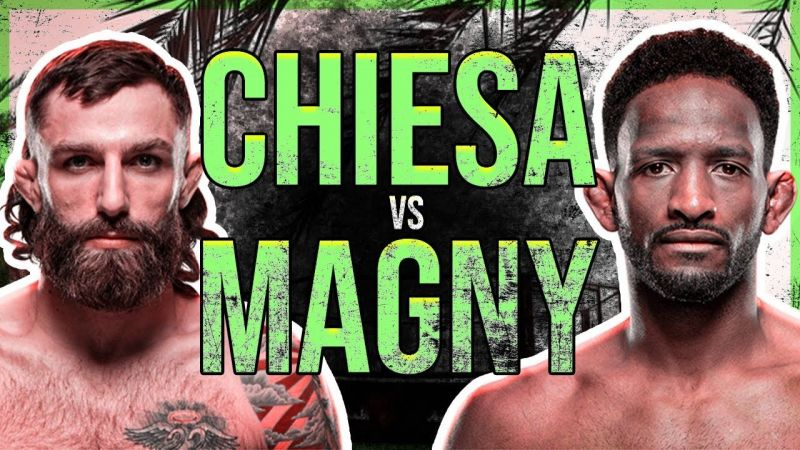 Michael Chiesa faces Neil Magny in the main event of UFC Fight Island 8 next Wednesday.