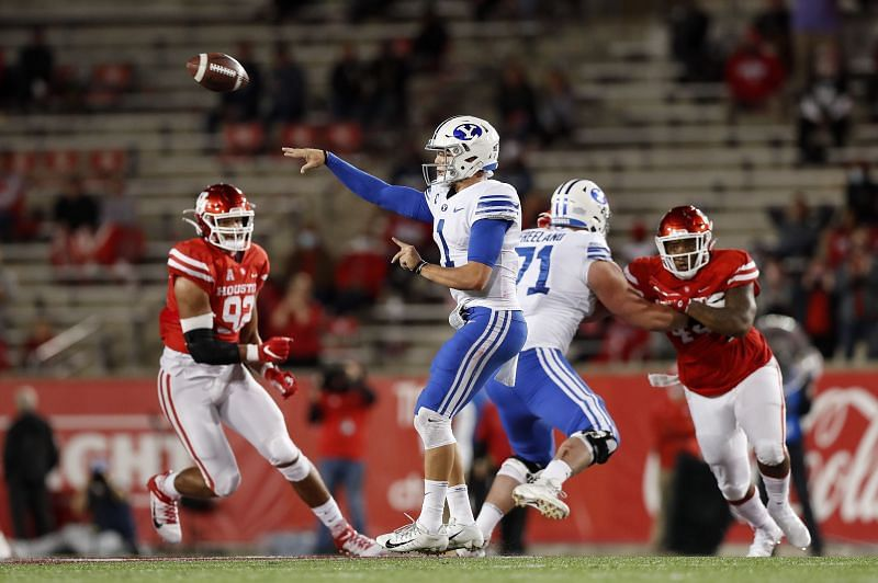 BYU quarterback Zach Wilson