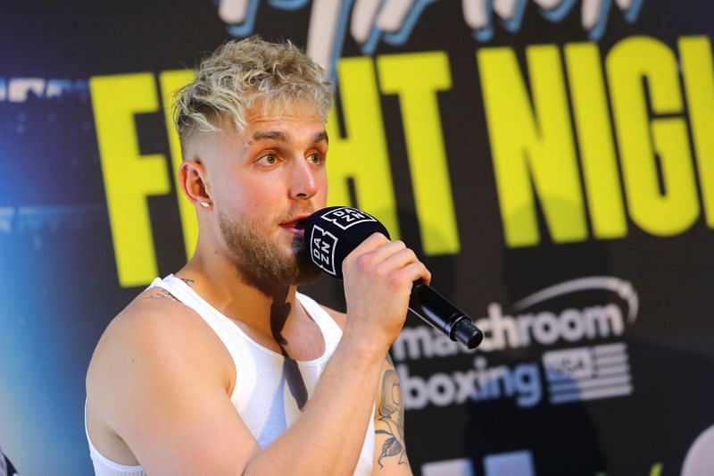 Jake Paul VS. Anesongib Press Conference