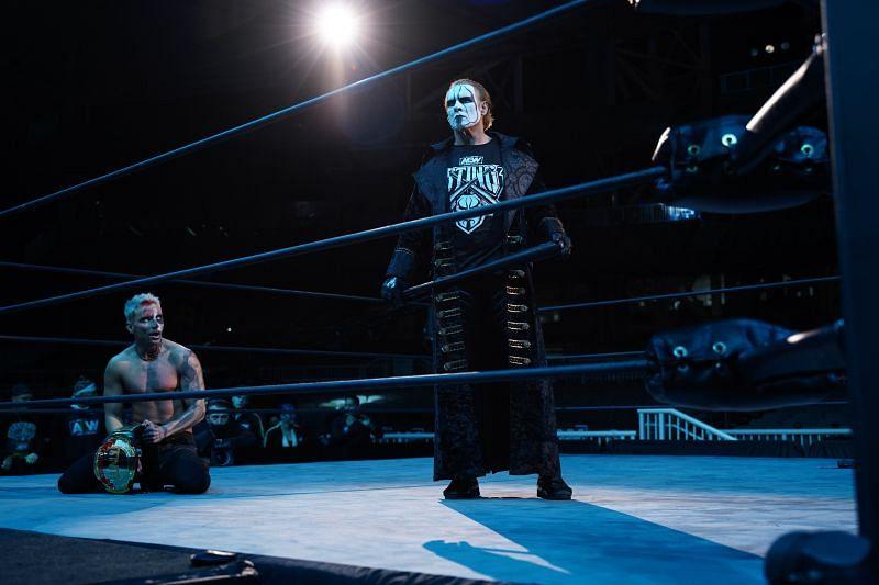 Sting and Darby Allin on AEW Dynamite