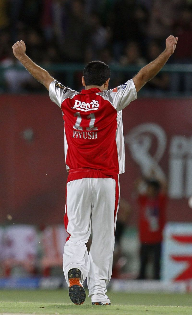 Piyush Chawla represented the KXIP from 2008-2013