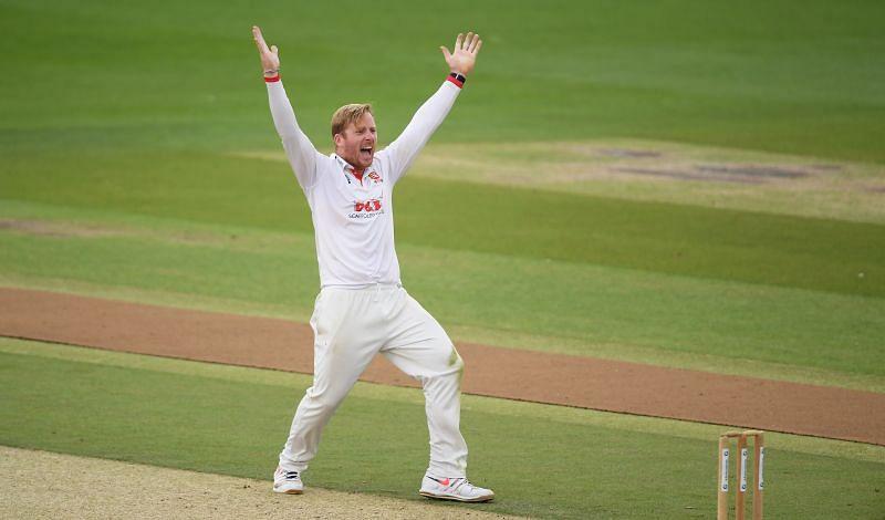 Simon Harmer has enjoyed success in County Cricket.