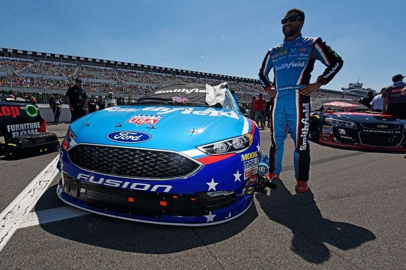 Darrell Wallace Jr continues to show no fear as he tries to bring social justice to NASCAR.