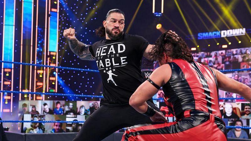 Roman Reigns and Shinsuke Nakamura