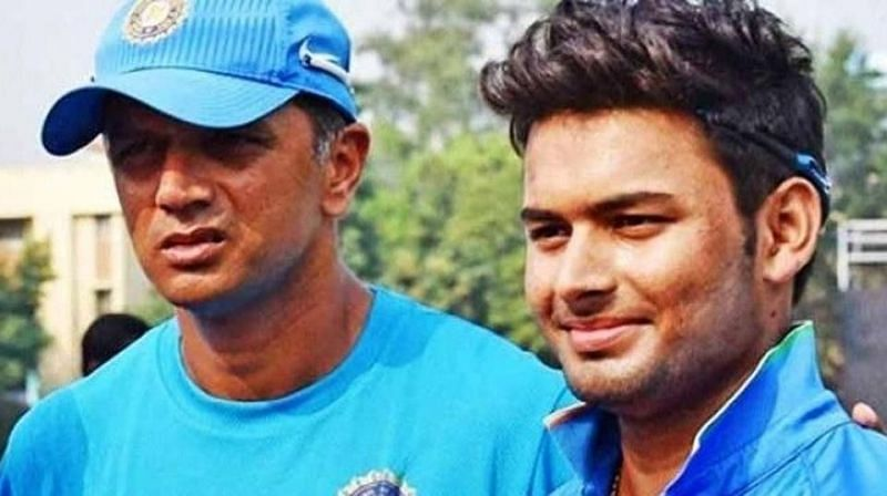 Rahul Dravid worked with players like Rishabh Pant at a very young age