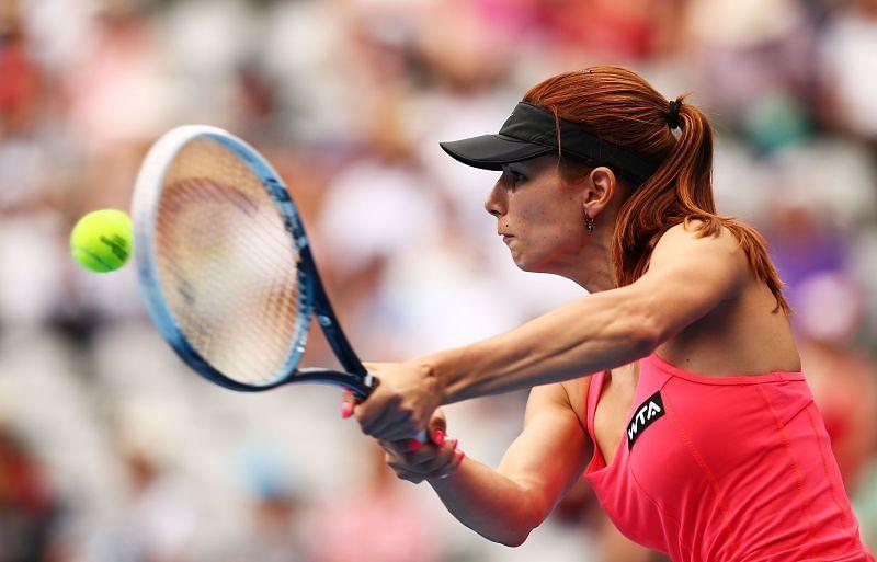 Tsvetana Pironkova had to make some adjustments during her second round match.