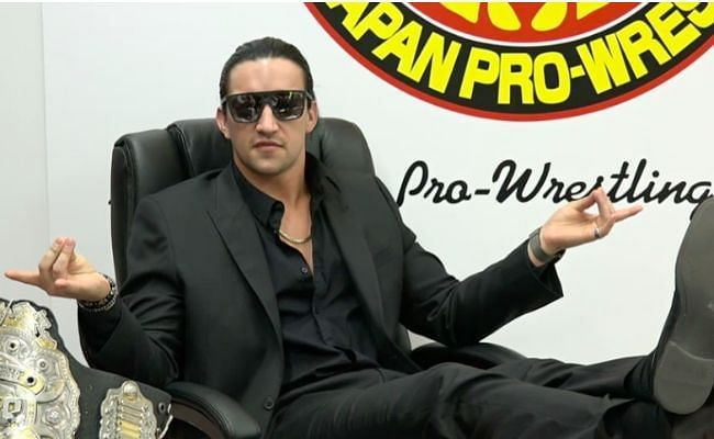 """""""Switchblade"""" Jay White has been dominated the headlines since NJPW Wrestle Kingdom 15."""